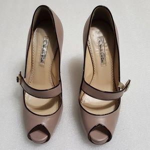 🎈OSCAR DE LA RENTA🎈 peep toe high heels size 37